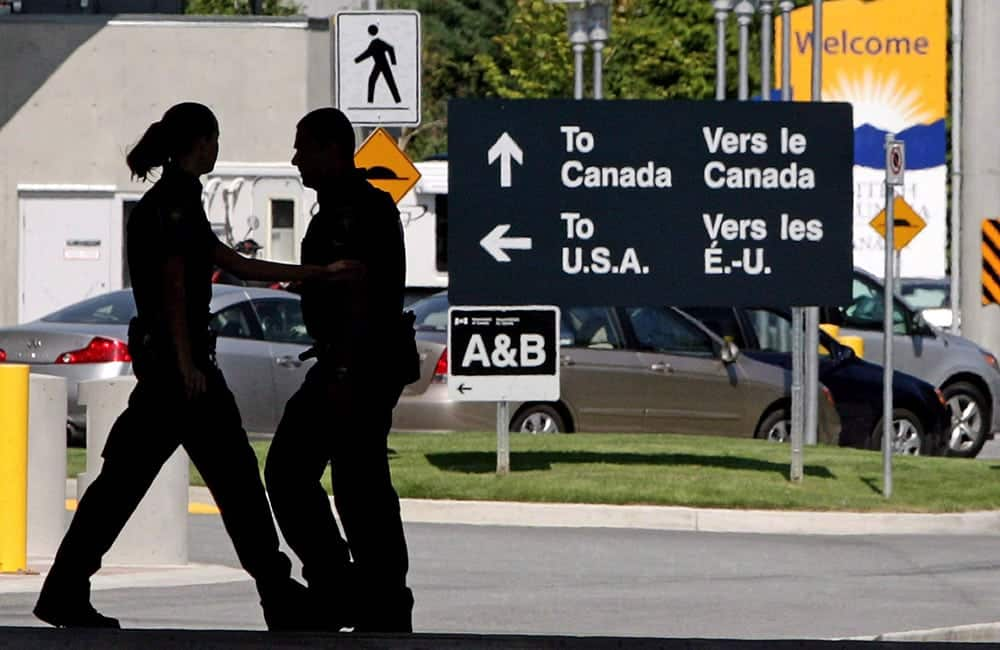 Canada Customs in the USA