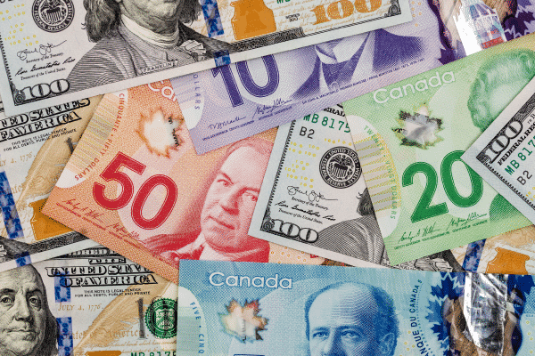 Canada to USA Currency Exchange