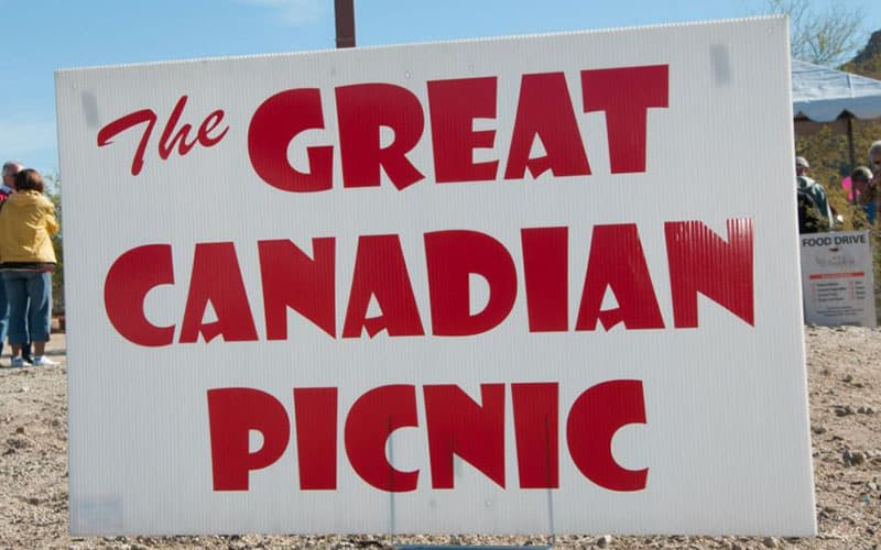 The 2019 Great Canadian Picnic